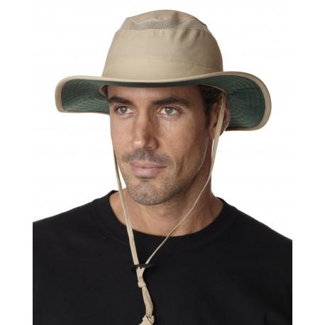 OB101 Adams OB101 Outback Brimmed Hat KHAKI