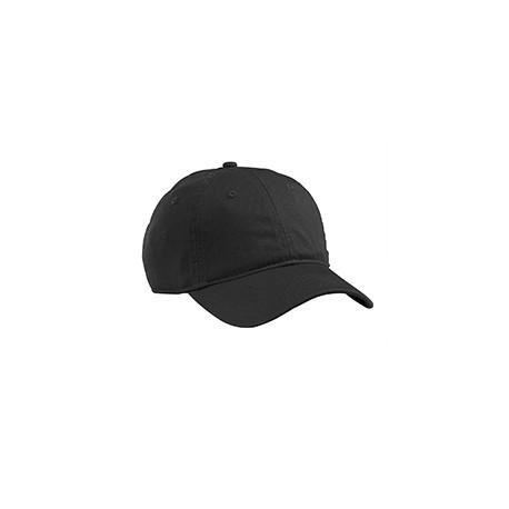 EC7000 Econscious EC7000 Organic Cotton Twill Unstructured Baseball Hat BLACK
