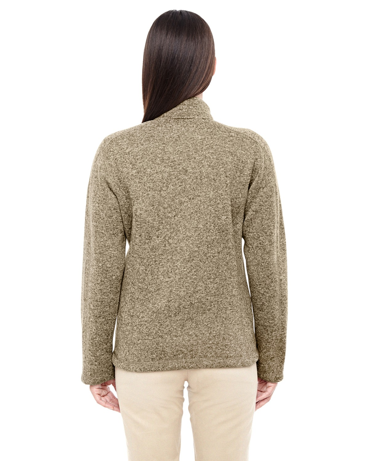 DG793W Devon & Jones KHAKI HEATHER