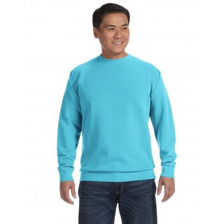 1566 Comfort Colors 1566 Adult Crewneck Sweatshirt LAGOON BLUE