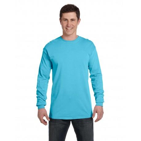 C6014 Comfort Colors C6014 Adult Heavyweight RS Long-Sleeve T-Shirt LAGOON BLUE
