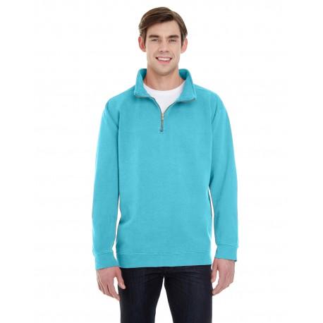 1580 Comfort Colors 1580 Adult Quarter-Zip Sweatshirt LAGOON BLUE