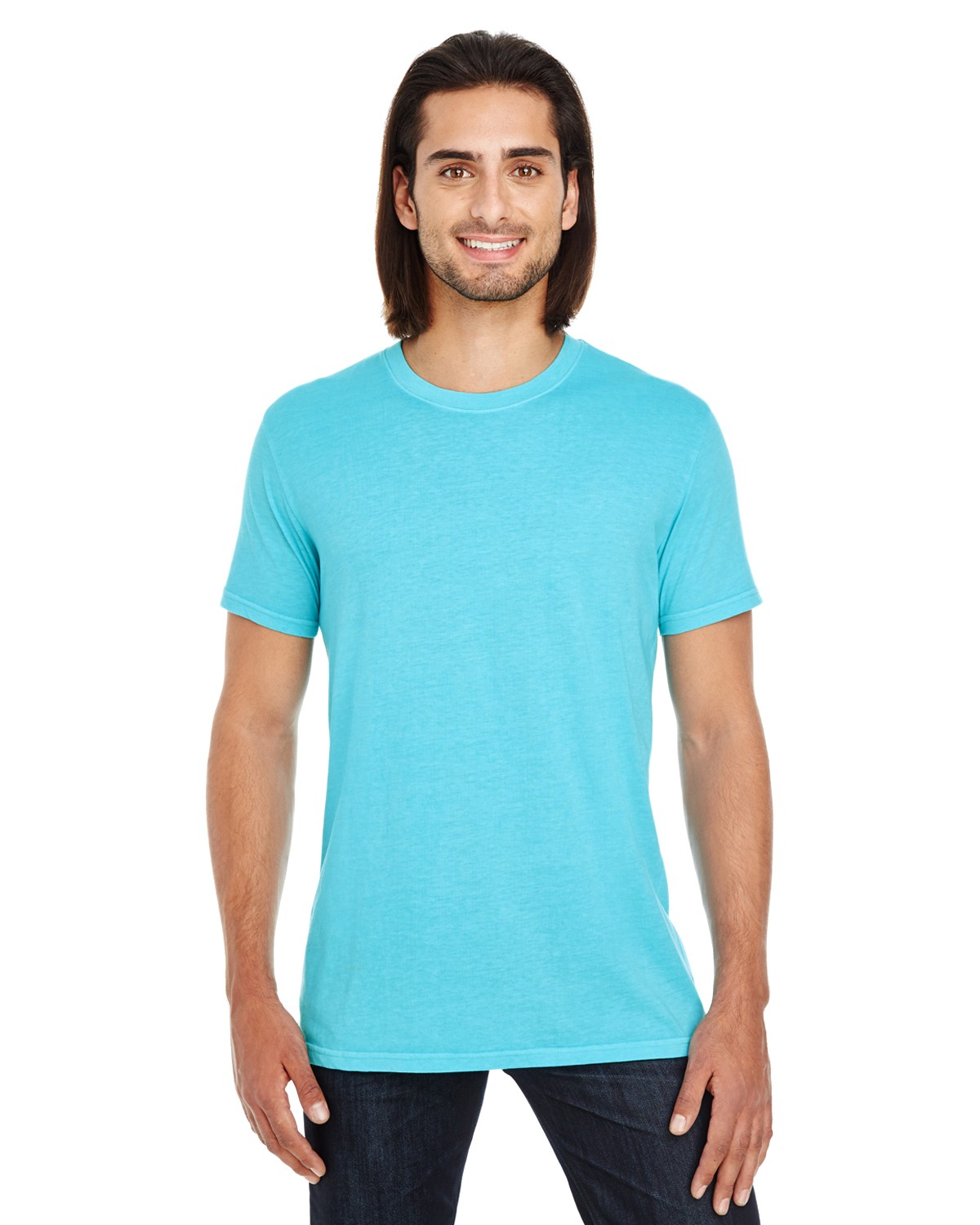 130A Threadfast Apparel LAGOON BLUE
