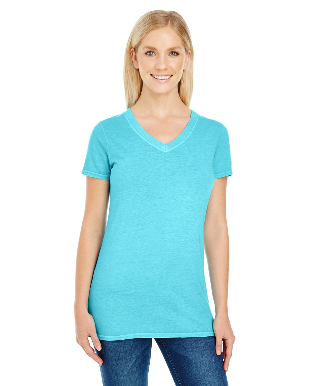 230B Threadfast Apparel LAGOON BLUE