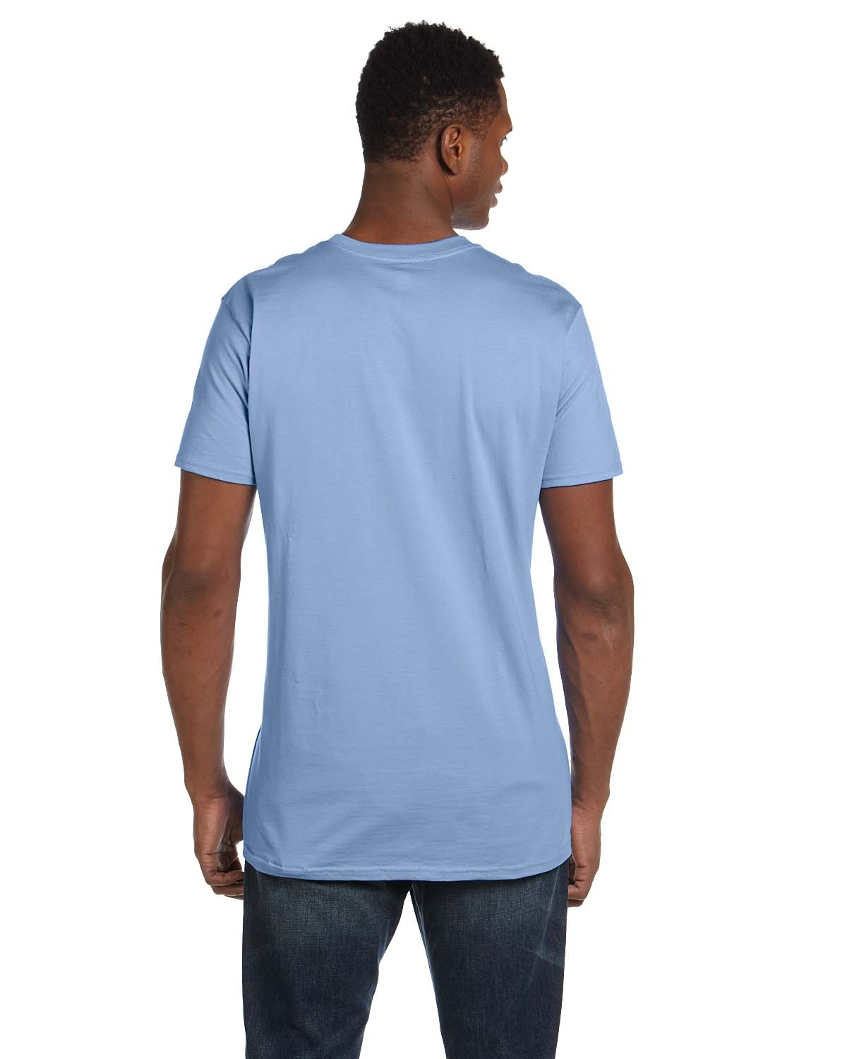 4980 Hanes LIGHT BLUE