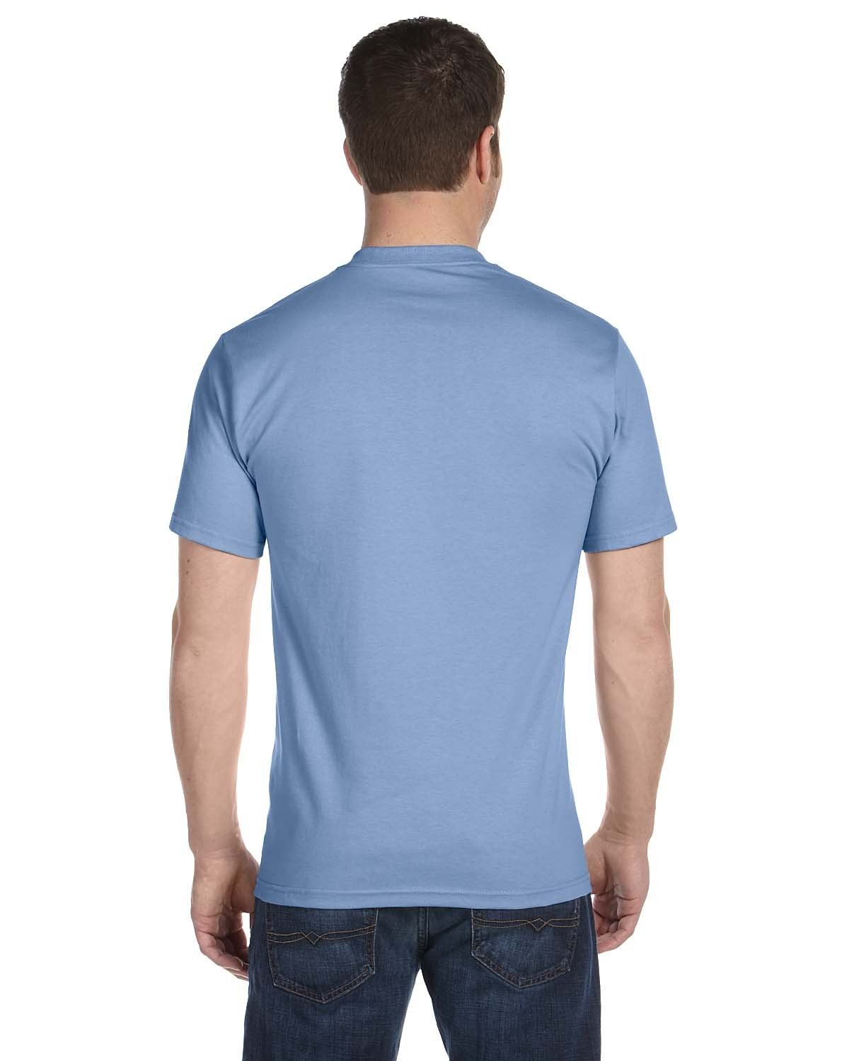 5280 Hanes LIGHT BLUE
