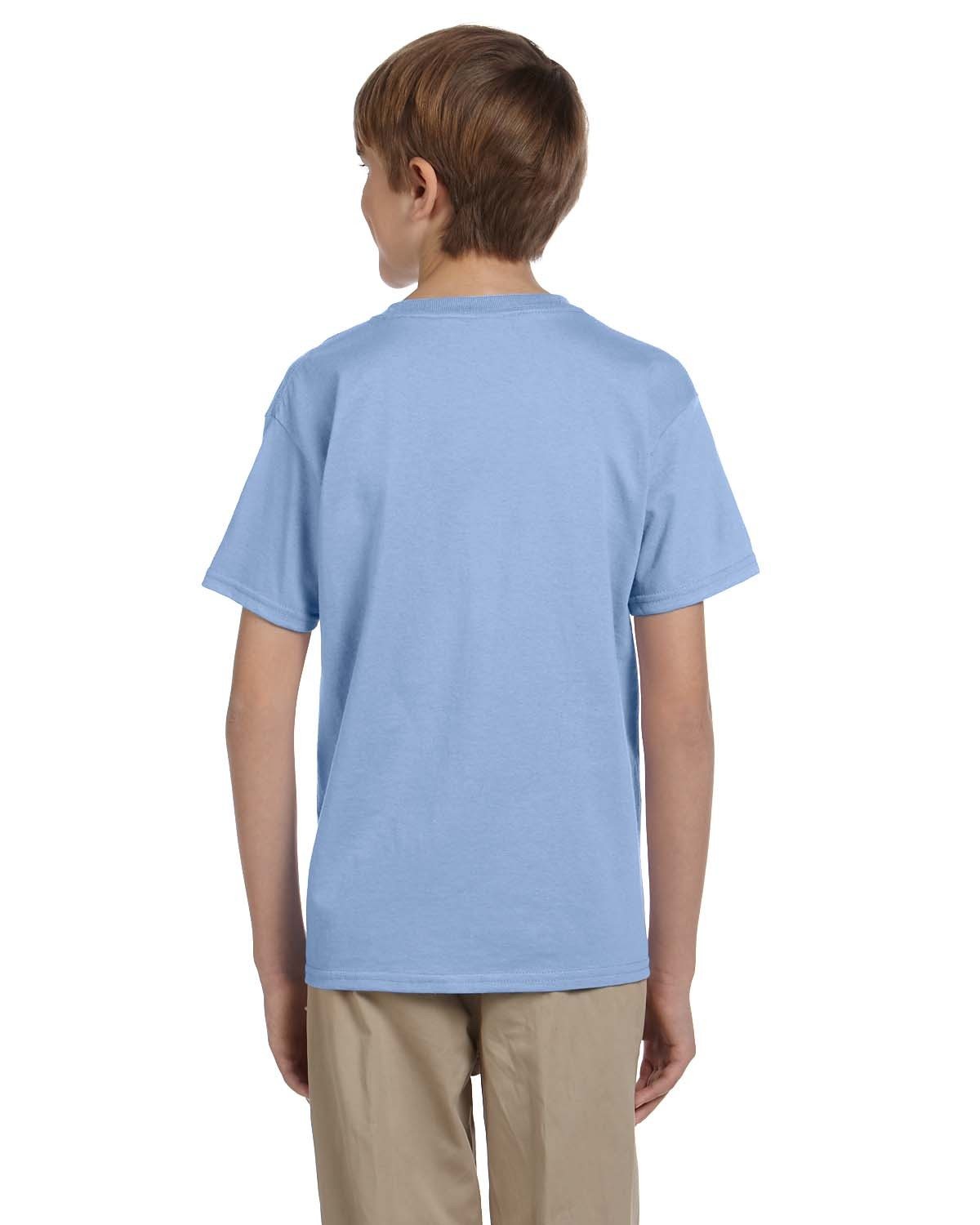 5370 Hanes LIGHT BLUE
