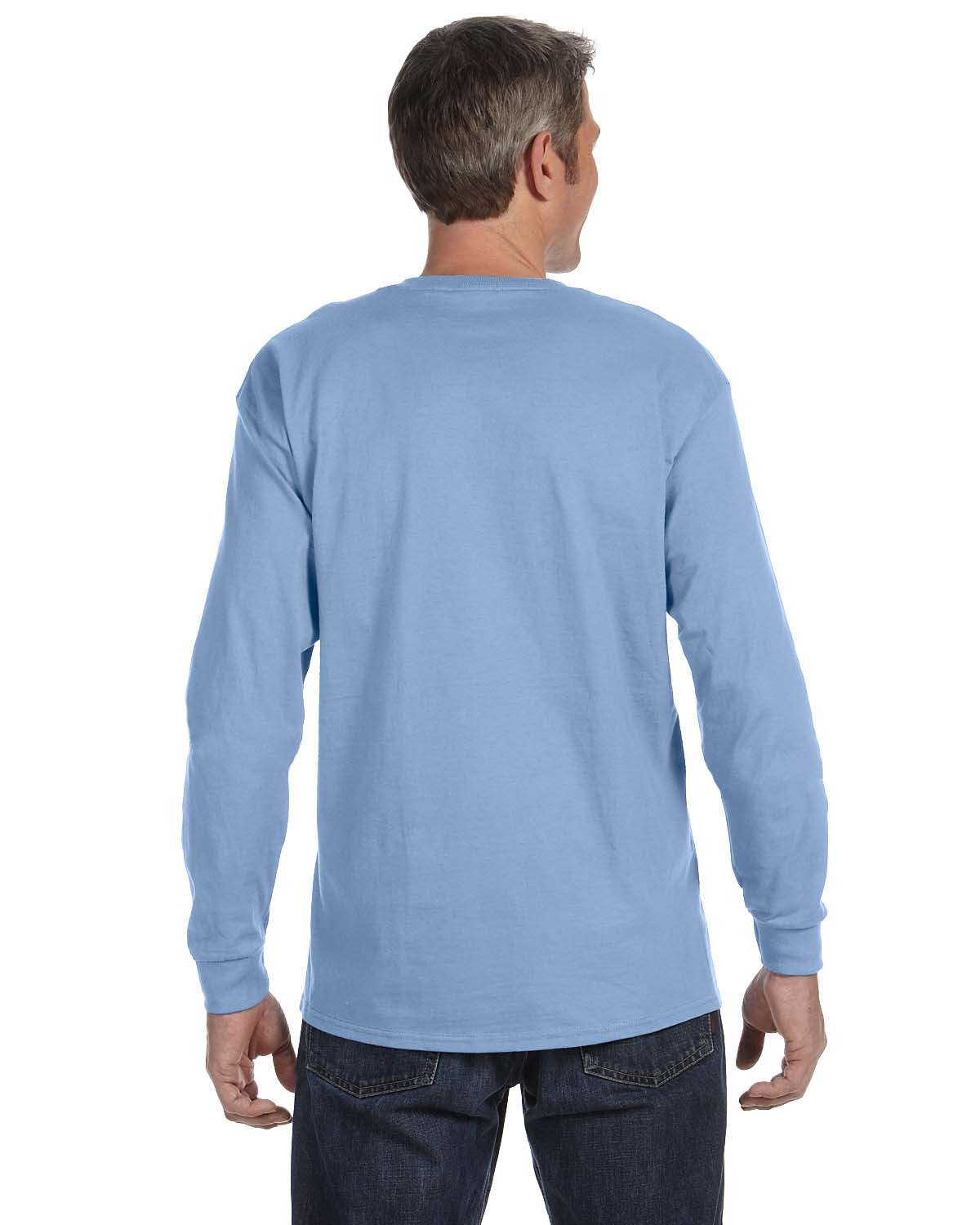 5586 Hanes LIGHT BLUE