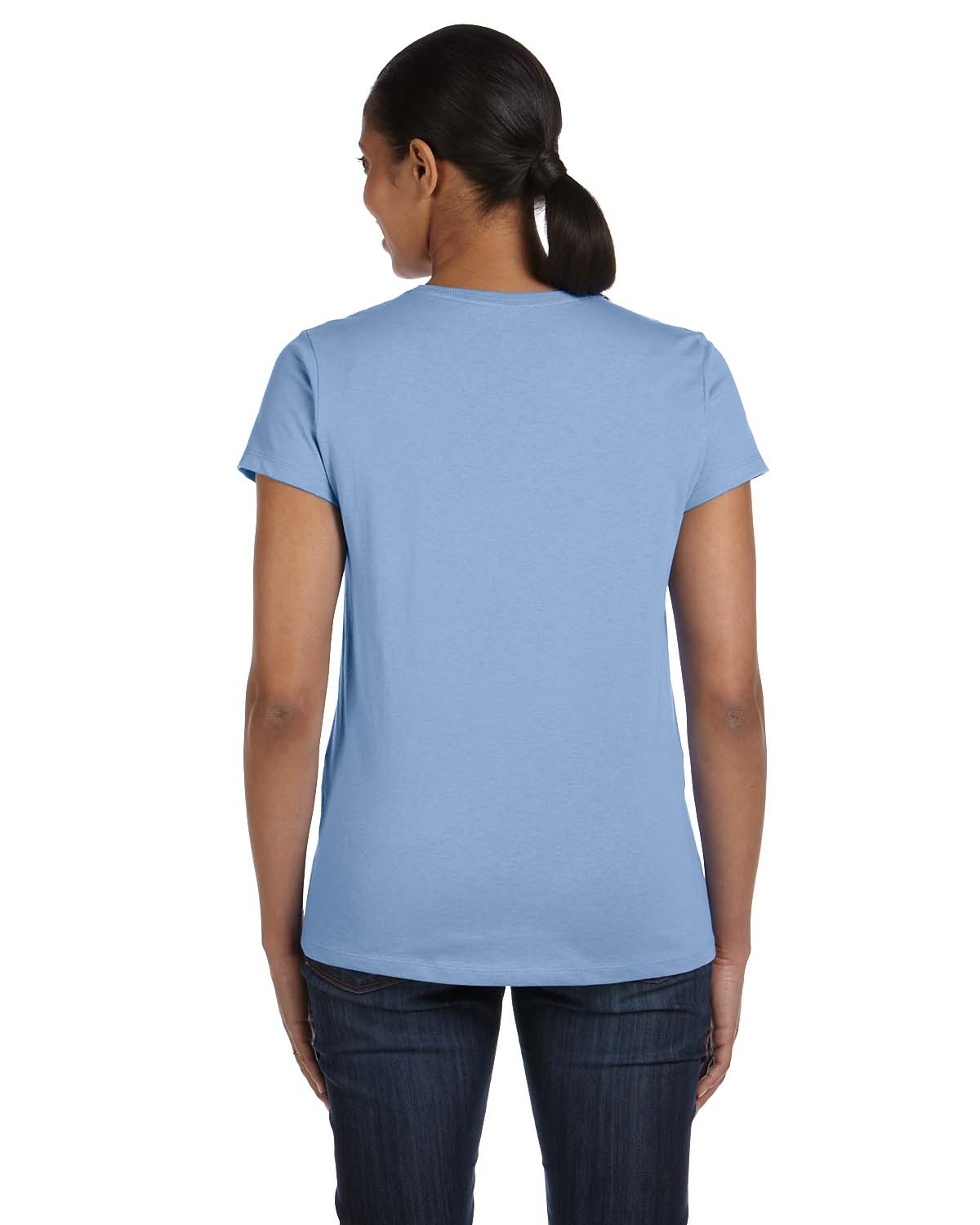 5680 Hanes LIGHT BLUE