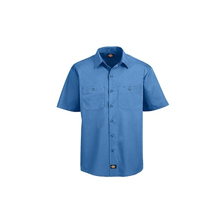 LS516 Dickies LS516 Men's 4.25 oz. MaxCool Premium Performance Work Shirt LIGHT BLUE