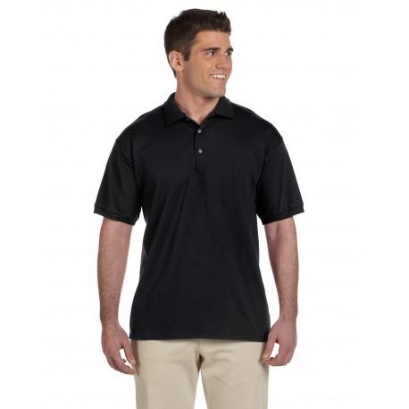 G280 Gildan G280 Adult Ultra Cotton Adult 6 oz. Jersey Polo BLACK