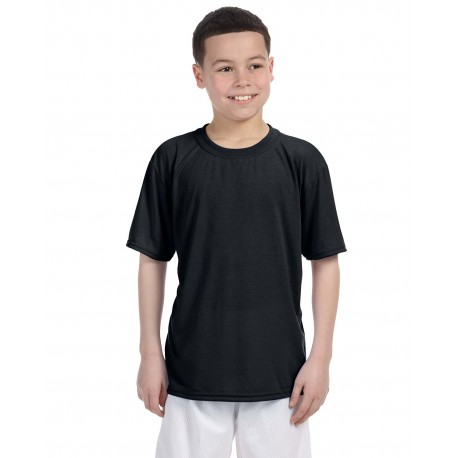 G420B Gildan G420B Youth Performance Youth 5 oz. T-Shirt SPORT GREY