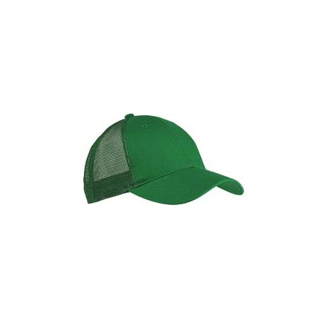 BX019 Big Accessories BX019 6-Panel Structured Trucker Cap LIGHT FOREST