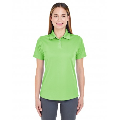 8445L UltraClub 8445L Ladies' Cool & Dry Stain-Release Performance Polo LIGHT GREEN