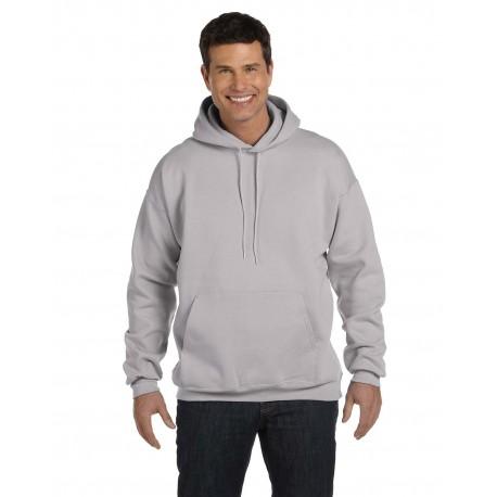 F170 Hanes F170 Adult 9.7 oz. Ultimate Cotton 90/10 Pullover Hood LIGHT STEEL