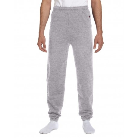 P900 Champion P900 Adult 9 oz. Double Dry Eco Fleece Pant LIGHT STEEL