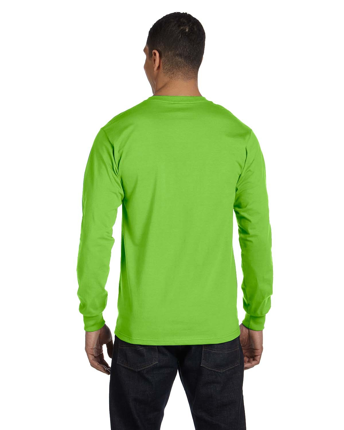 5186 Hanes LIME