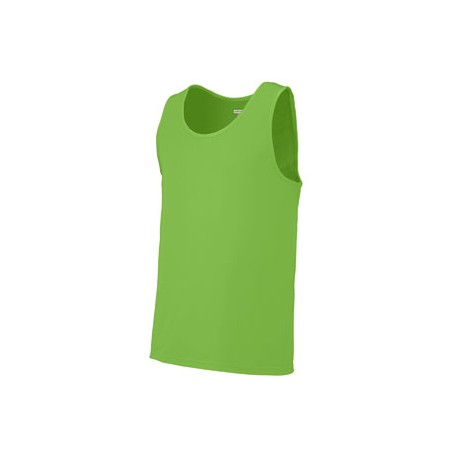 703 Augusta Sportswear 703 Adult Training Tank LIME