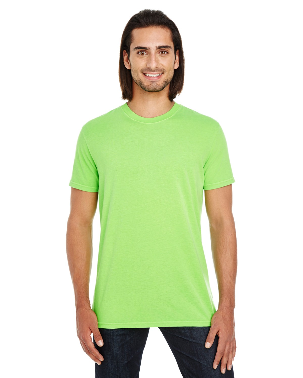 130A Threadfast Apparel LIME