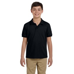 Gildan G948B Youth 6.8 oz. Pique Polo