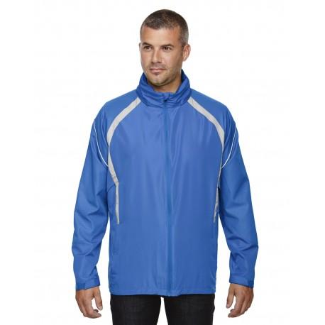 88168 North End 88168 Men's Sirius Lightweight Jacket with Embossed Print LT NAUT BLU 417