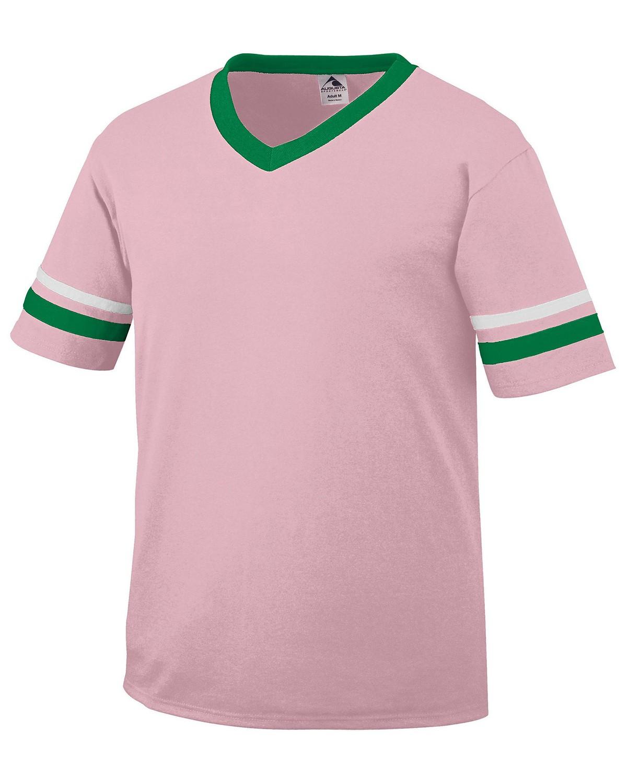 360 Augusta Sportswear LT PNK/KLLY/WH