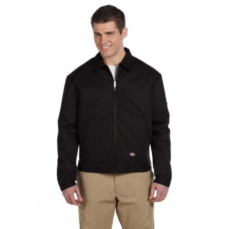 JT15 Dickies JT15 Men's 8 oz. Lined Eisenhower Jacket BLACK