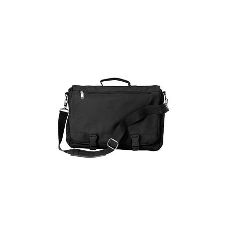 LB1011 Liberty Bags LB1011 Corporate Raider Expandable Briefcase BLACK