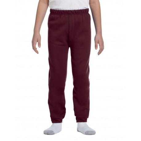 973B Jerzees 973B Youth 8 oz. NuBlend Fleece Sweatpants MAROON