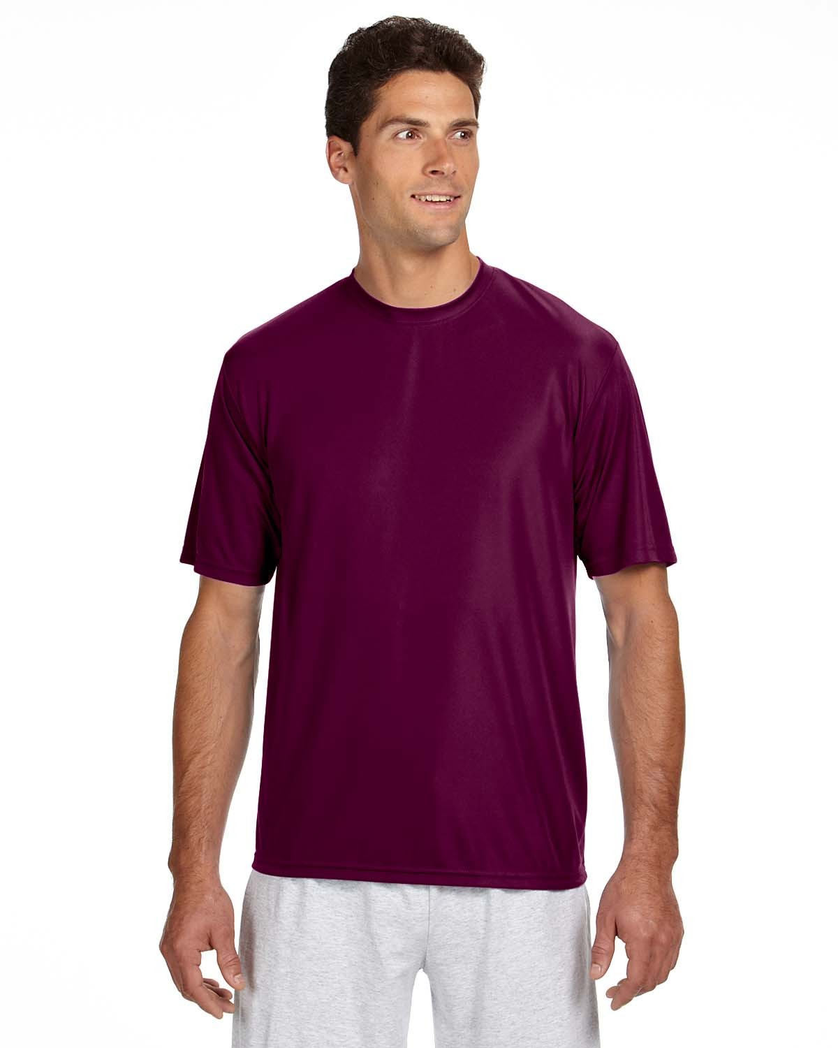 N3142 A4 Apparel MAROON