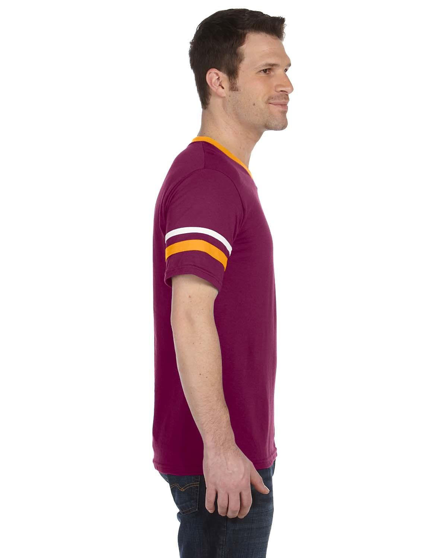 360 Augusta Sportswear MAROON/GLD/WHT