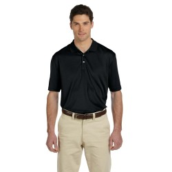 Harriton M353 Men's Double Mesh Polo
