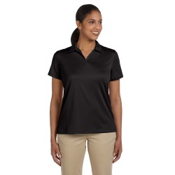 Harriton M353W Ladies' Double Mesh Polo