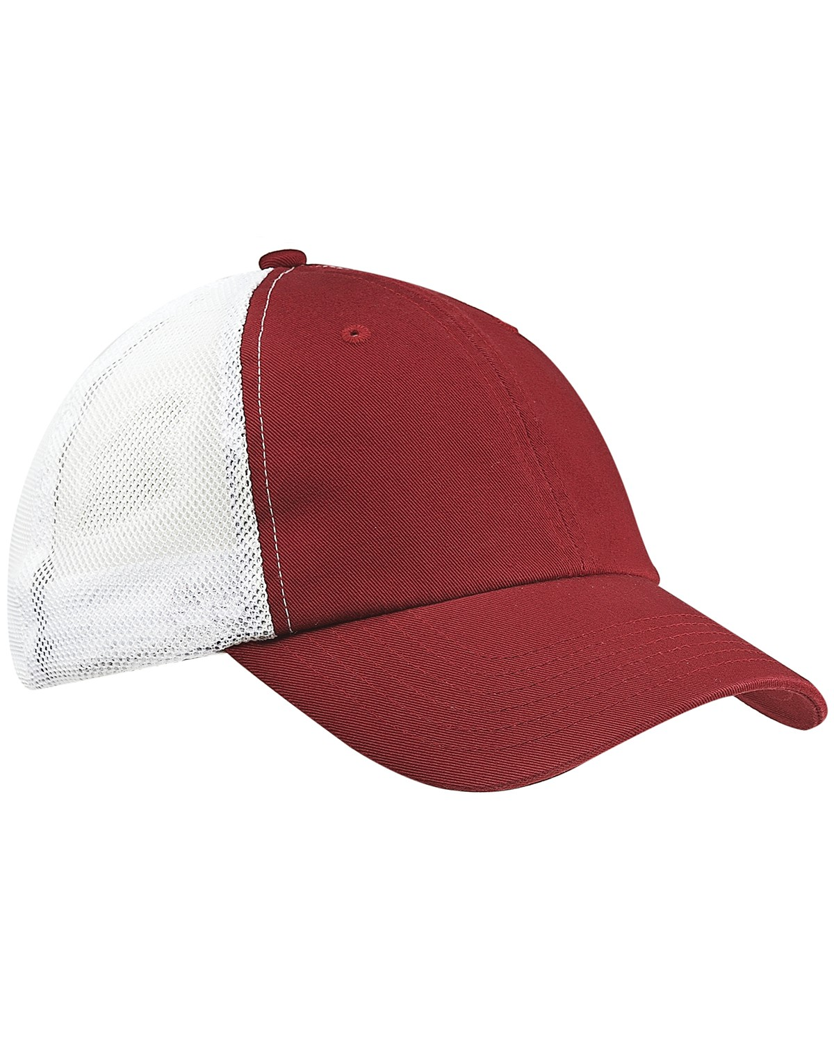 BA601 Big Accessories MAROON/WHITE