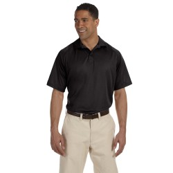 Harriton M374 Men's 3.8 oz. Polytech Mesh Insert Polo