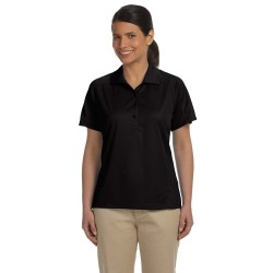 Harriton M374W Ladies' 3.8 oz. Polytech Mesh Insert Polo