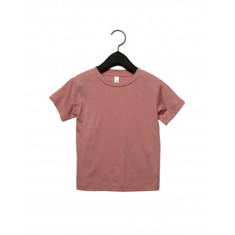 3413T Bella + Canvas 3413T Toddler Triblend Short-Sleeve T-Shirt MAUVE TRIBLEND
