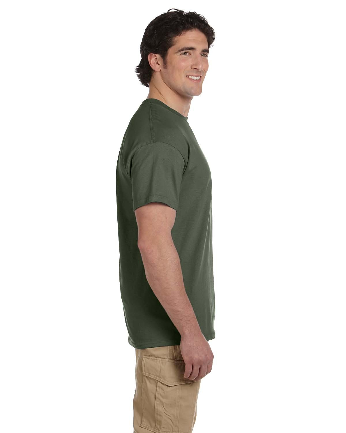 3931 Fruit of the Loom MILITARY GREEN