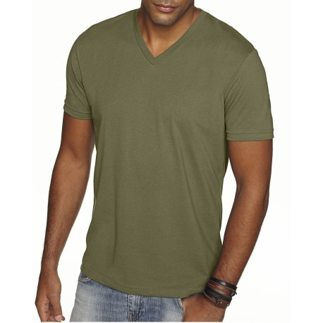 6440 Next Level 6440 Men's Sueded MILITARY GREEN