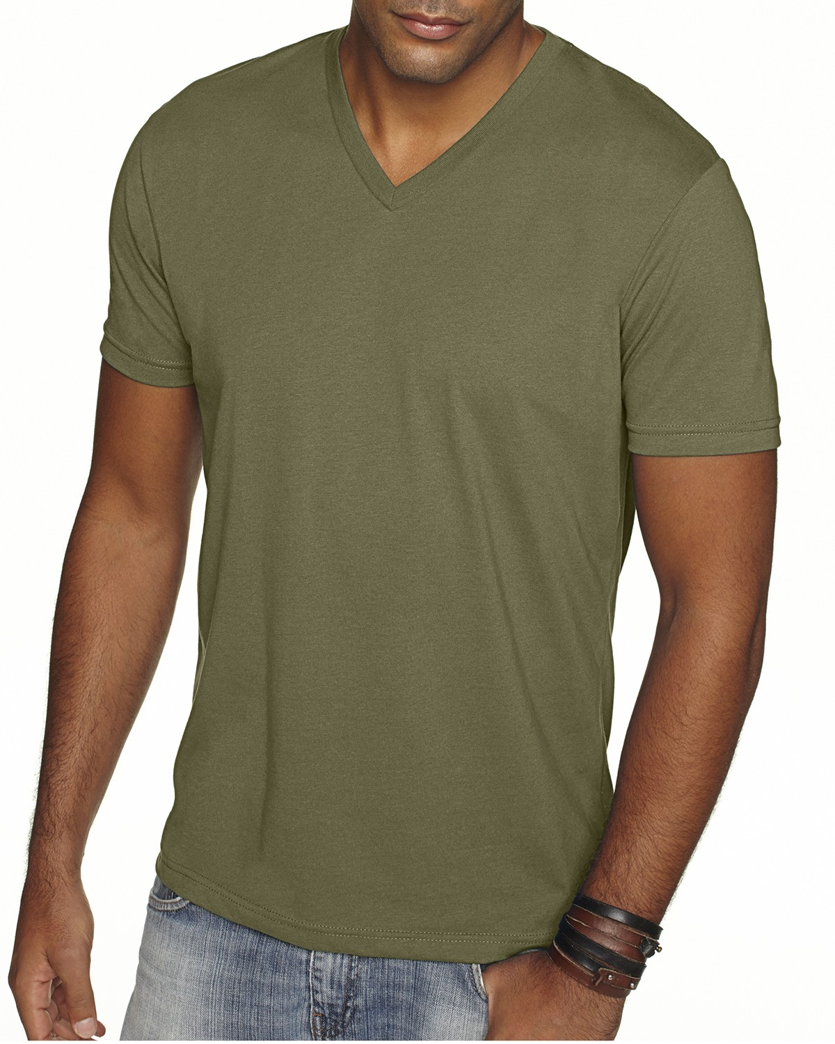 6440 Next Level MILITARY GREEN