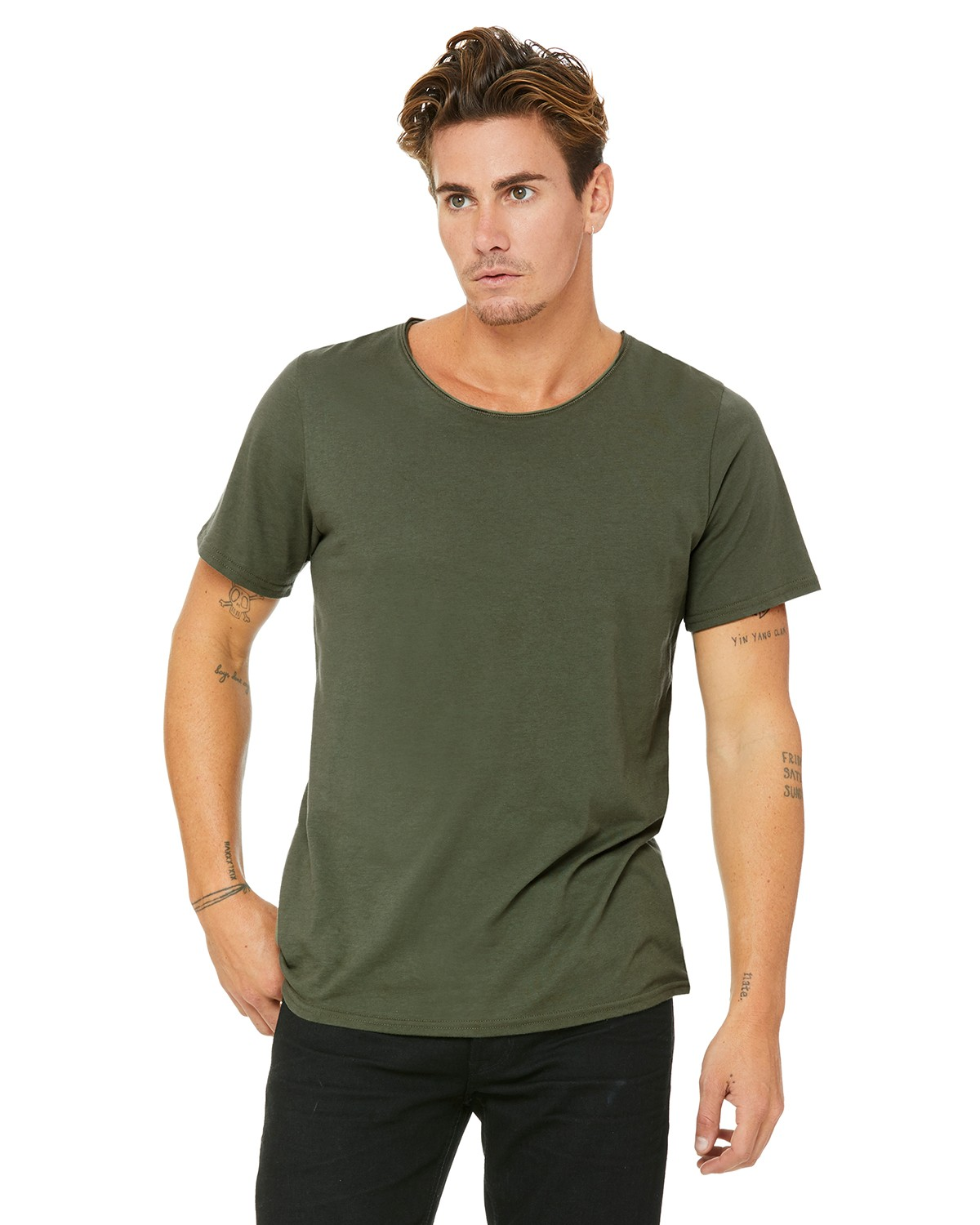 B3014 Bella + Canvas MILITARY GREEN