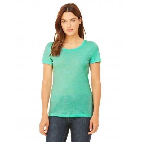 B8413 Bella + Canvas B8413 Ladies' Triblend Short-Sleeve T-Shirt MINT TRIBLEND
