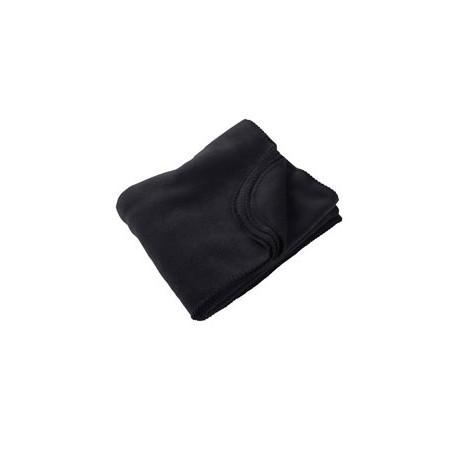 M999 Harriton M999 12.7 oz. Fleece Blanket BLACK