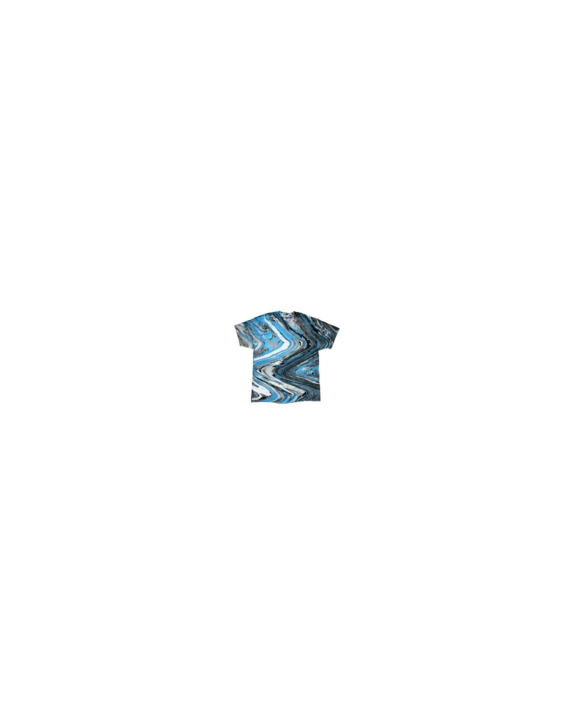 CD100Y Tie-Dye MRBLE BLUE TIGER