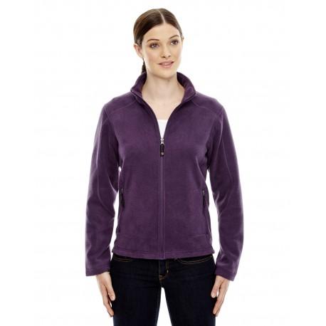 78172 North End 78172 Ladies' Voyage Fleece Jacket MULBRY PURPL 449