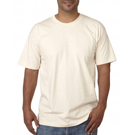 BA5040 Bayside BA5040 Adult Short-Sleeve T-Shirt NATURAL