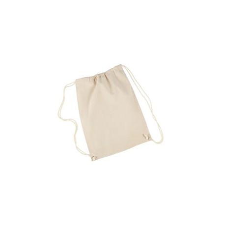 8875 Liberty Bags 8875 Cotton Drawstring Backpack NATURAL