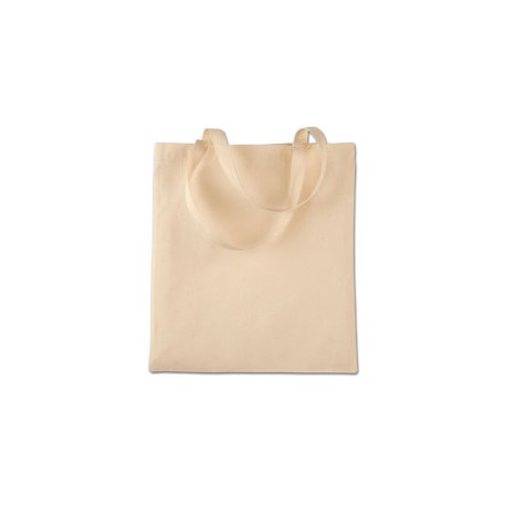 8502 Liberty Bags 8502 BRANSON BARGAIN CANVAS TOTE NATURAL