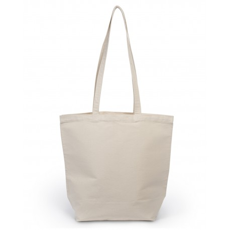 8866 Liberty Bags 8866 Star of India Cotton Canvas Tote NATURAL