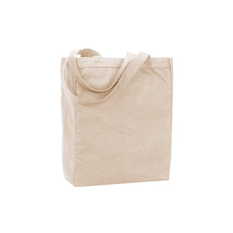 9861 Liberty Bags 9861 Allison Recycled Cotton Canvas Tote NATURAL